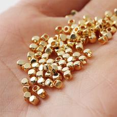 goldbead, Bracelet Making, Metal, 3mmbead