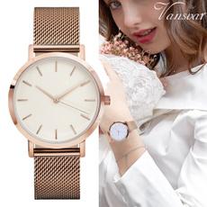Steel, stainlesssteelband, Fashion, Clock