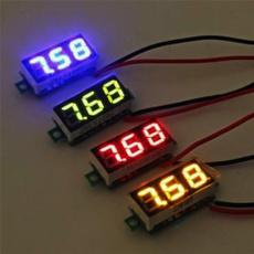 Blues, Test Equipment, miniledvoltmeter, voltagevoltmeter