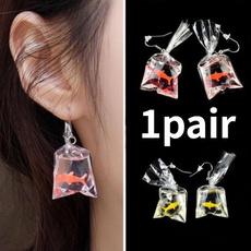 Charm, fishearring, Dangle Earring, Jewelry