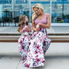 momanddaughterdres, Summer, Family, long dress
