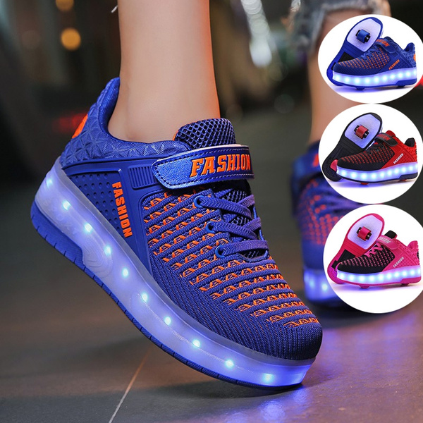 Boy, Sneakers, Toy, led