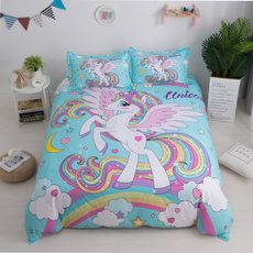 pink, horse, Pillow Shams, doublesize