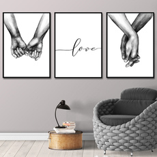minimalist, Decor, loverquote, canvaspainting