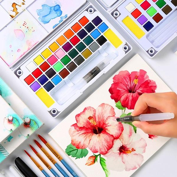 Box, Art Supplies, sketch, art