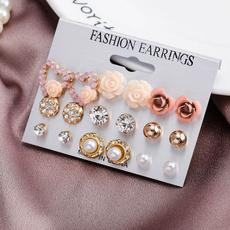 Fashion, Jewelry, combination, pearls