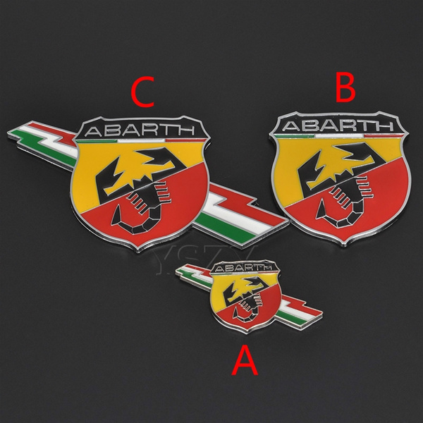 fiat, Decal, abarth, Cars