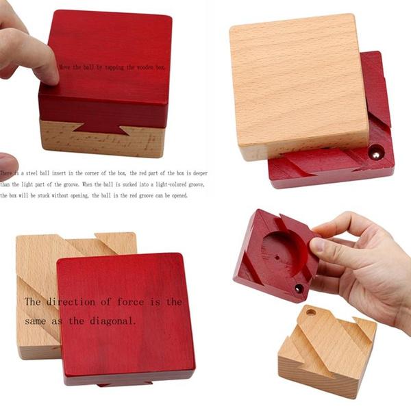 Box, Toy, Magic, Gifts