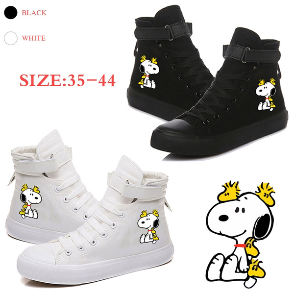 Snoopy Sneakers Boots Canvas Shoes