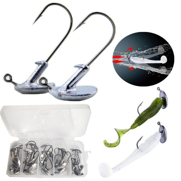 leadsinker, Steel, Head, fishingrod