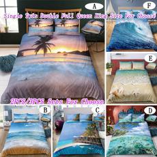 beddingkingsize, 3pcsbeddingset, bedclothe, Home & Living