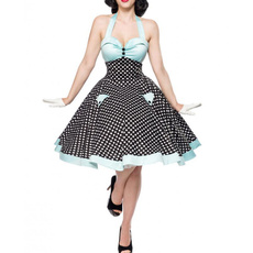 Summer, halter dress, Halter, Cocktail Party Dress