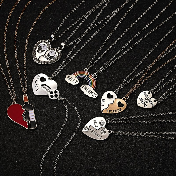 trendy necklace, Fashion, friendshipnecklace, Jewelry