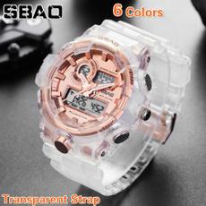 LED Watch, quartz, jewelryampwatche, Waterproof