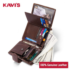 shortwallet, moneybag, Wallet, genuine leather