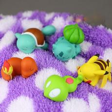 Toy, microlandscapedecoration, Pikachu, cardecoration