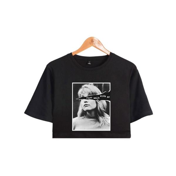 cartoonprintingtop, fashion clothes, topsamptshirt, Cotton Shirt