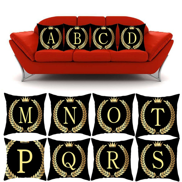 Decor, Letters, gold, Home & Living