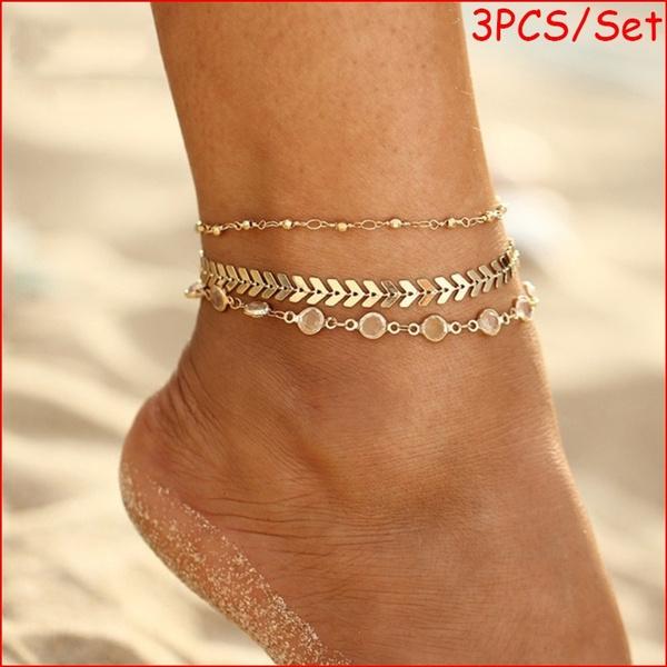 Fashion, Chain, gold, boho