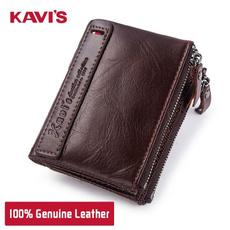 Mini, zipperpurse, Wallet, genuine leather