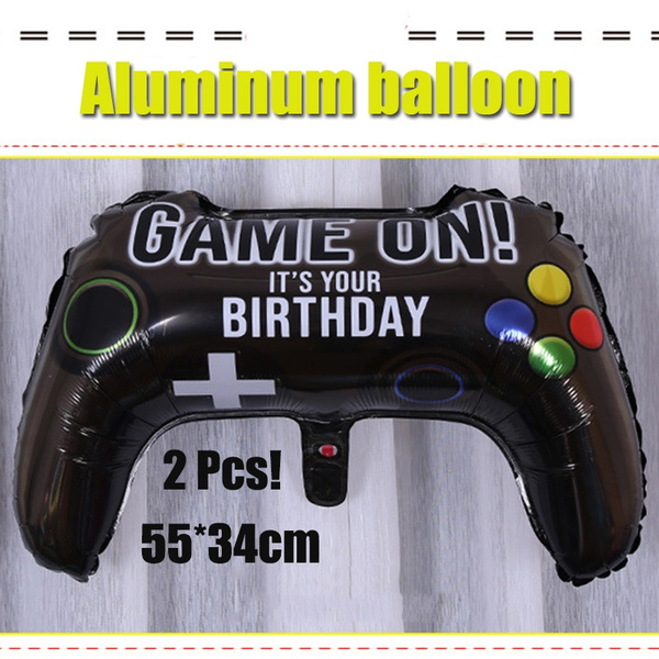 partyballoonsforkid, Gamer, gameballoon, aluminumballoon