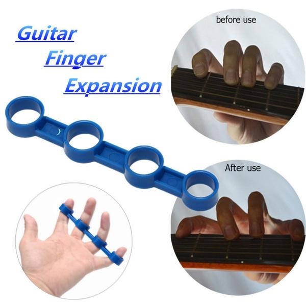Plastic Finger Expansion Sleeve Finger Force Span Practice for Guitar Lea HG#