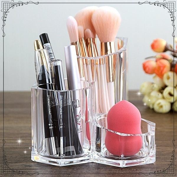 Storage Box, brushholder, cosmeticdisplay, Makeup