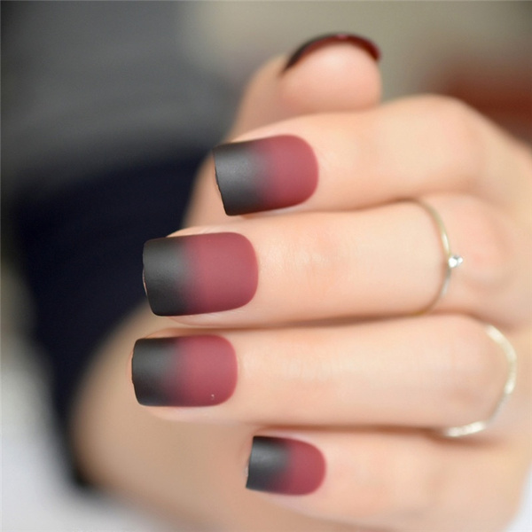 manicure tool, Beauty, gradientfrosted, Nail Art Tip