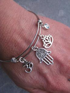 Flowers, Jewelry, Gifts, adjustablebracelet