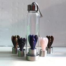 Bottle, quartz, wand, Angel