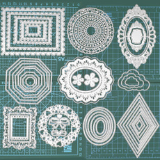 stencilsfordiyscrapbooking, circledie, metalcuttingdie, Metal