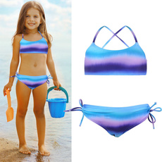 childrenbeachwear, two piece swimsuit, kidsswimsuit, girlsbikinisuit
