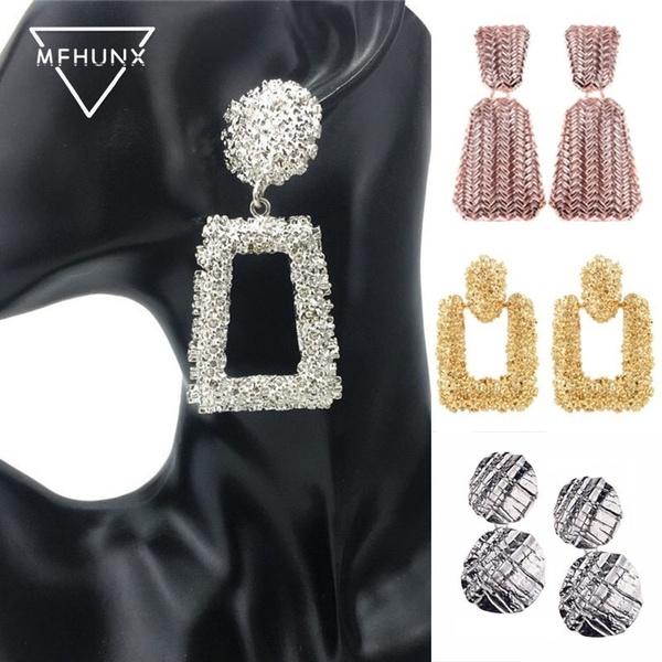 Fashion, gold, Earring, Women's Fashion