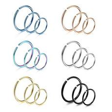 Steel, openhoopring, Jewelry, jewelrynosering