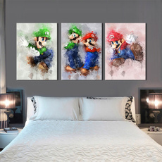 mariobrother, art, Home Decor, Posters