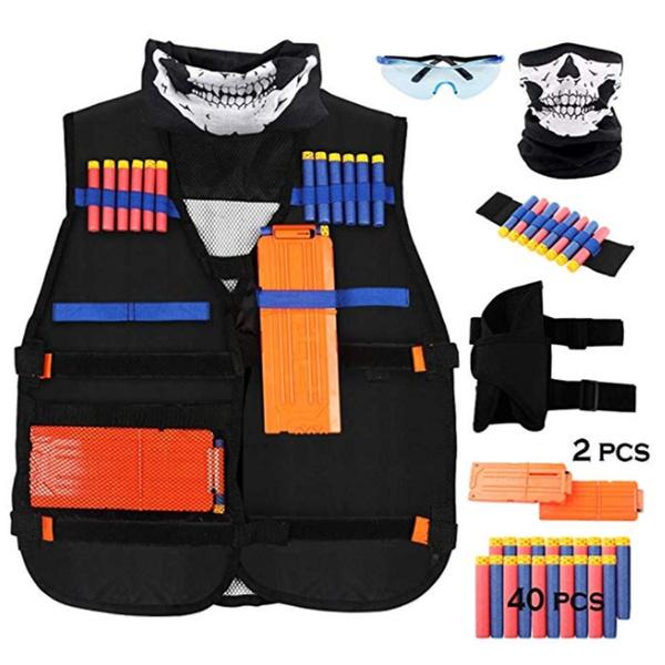 tacticalvesttoy, Vest, Fashion, nerfvestset