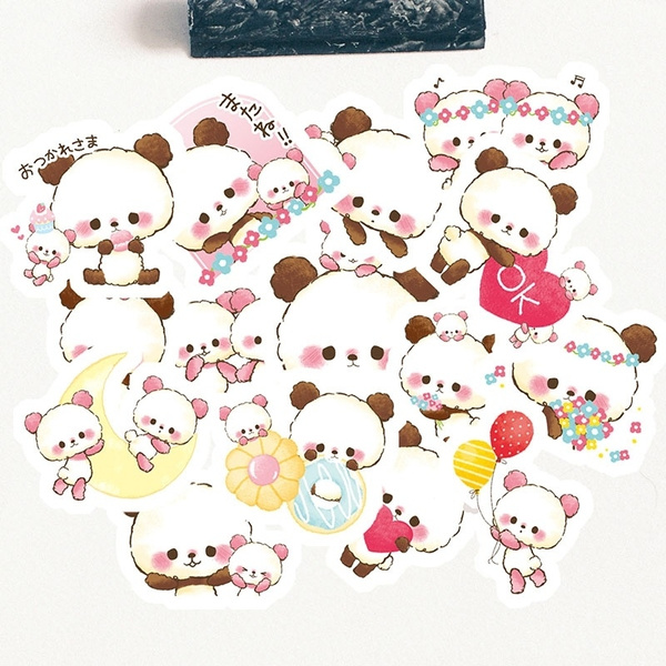 Kawaii Stickers Cute Sticker Pack Handmade Decorative Stickers Wish