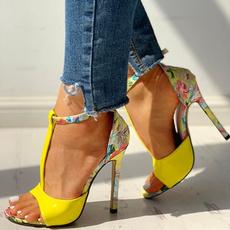 casual shoes, Summer, Sandals, Heels