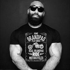 grandpashirt, motorcyclestshirt, Vintage, summer shirt