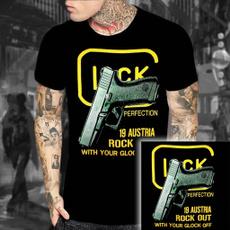 glock, Shirt, Sleeve, round toe