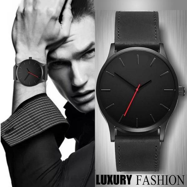 Fashion, leather, Watch, mensportwatch