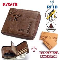 Mini, Wallet, genuine leather, Men