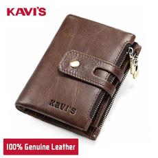 zipperpurse, Wallet, genuine leather, leather