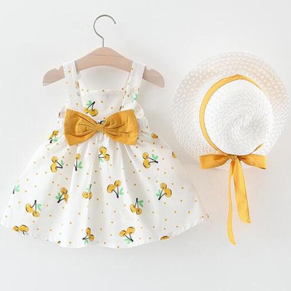 Baby, Summer, Fashion, pleated dress