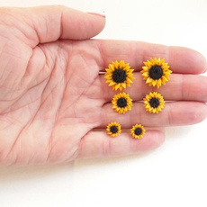 polymer, Stud, Flowers, Gifts