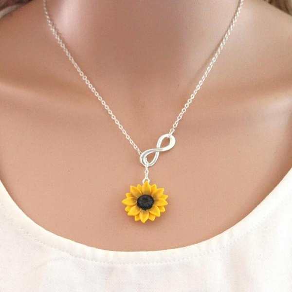 bridesmaidsnecklace, Flowers, Infinity, Gifts
