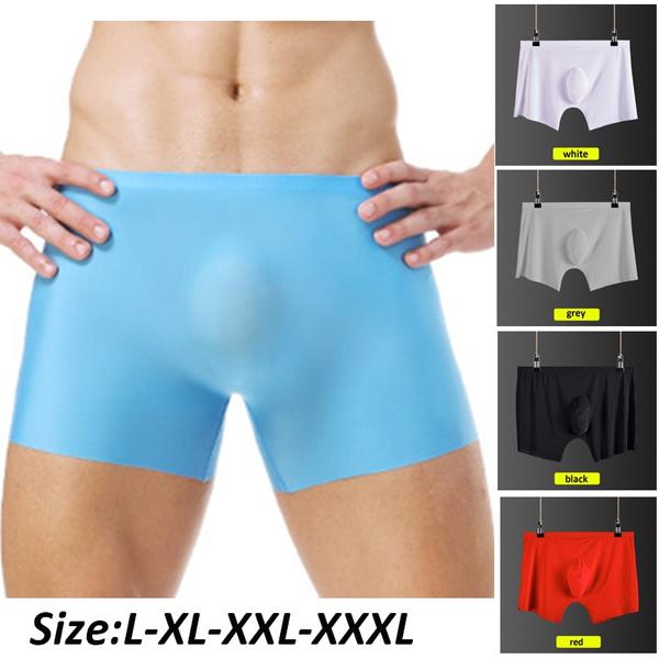 Underwear, elastic waist, boxer briefs, seamless underwear