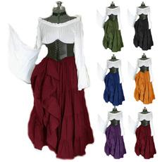 Vintage, piratecostume, Plus Size, Medieval