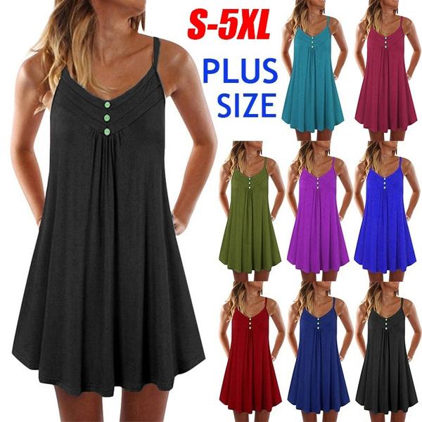 Summer, Women's Fashion, Plus Size, black