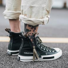 menscanvasshoe, casual shoes, Fashion, blackshoe